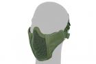 Stalker PDW Half Face Protective MESH Mask/OD