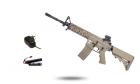 Starter Pack CM16 Raider-L Tan G&G Armament AEG airsoft