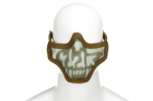 Steel Half Face Mask Death Head Tan (Invader Gear