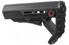 Strike Industries Viper Mod 1 Mil-Spec Carbine Stock for AR GBB Series Black / Red