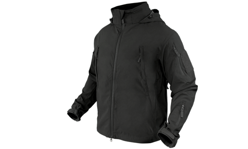 SUMMIT Zero Lightweight Soft Shell Jacket Black CONDOR