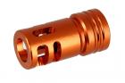 suppressor  caliber:-14mm length:44mm < Orange >