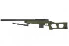 Swiss Arms SAS 08 Vert Olive avec bi-pieds chargeur 0,2 BB\'s