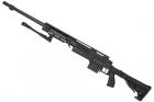 Swiss Arms SAS 12  NOIR avec bipieds chargeur 0,2 BB\'s