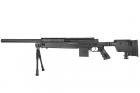 Swiss Arms SAS Sniper 06 Noir avec bi-pieds chargeur 0,2 BB\'s/C3