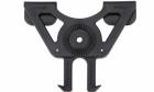 Système d'attache Molle pour holster rigide rotatif et porte chargeur CYTAC