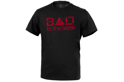 T-Shirt D.A Bad To The Bone Black Direct Action