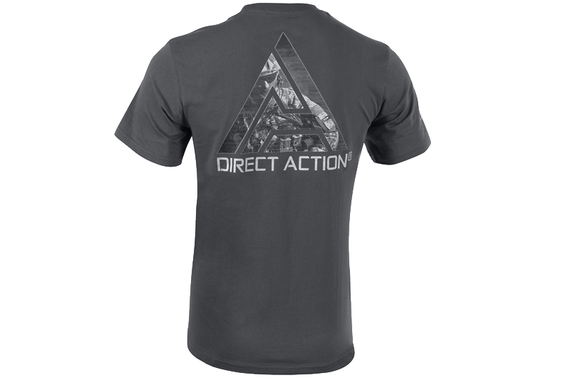 T-Shirt D.A PL Flag 2 Shadow Grey DIrect Action