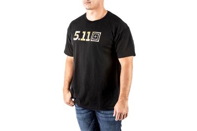 T-shirt Legacy Camo Fill Noir 5.11