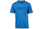 T-Shirt Legacy Tonal Bleu 5.11