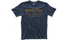 T-Shirt Logo Go Bang Bleu MAGPUL airsoft, police, militaire, outdoor