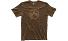 T-Shirt Logo Topo Marron MAGPUL airsoft, police, militaire, outdoor