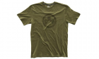 T-Shirt Logo Topo Vert Olive MAGPUL police, militaire, airsoft, outdoor