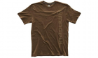 T-Shirt Logo Vertical Marron MAGPUL airsoft et forces de police