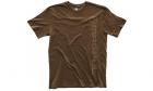 T-Shirt Logo Vertical Marron MAGPUL airsoft et forces de police