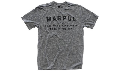 T-Shirt Megablend Go Bang Gris MAGPUL militaire, police, airsoft, outdoor