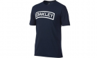 T-Shirt O-Tab Tee Fathom OAKLEY bleu marine police, airsoft, militaire, outdoor
