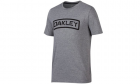 T-Shirt O-Tab Tee Gris OAKLEY airsoft, police, militaire, outdoor