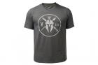 T-Shirt Three Tee Charcoal KRYPTEK