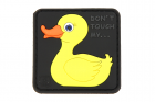 Tactical Rubber Duck Rubber Patch Jaune