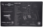 Tapis Bench Mat Glock Vector Optics