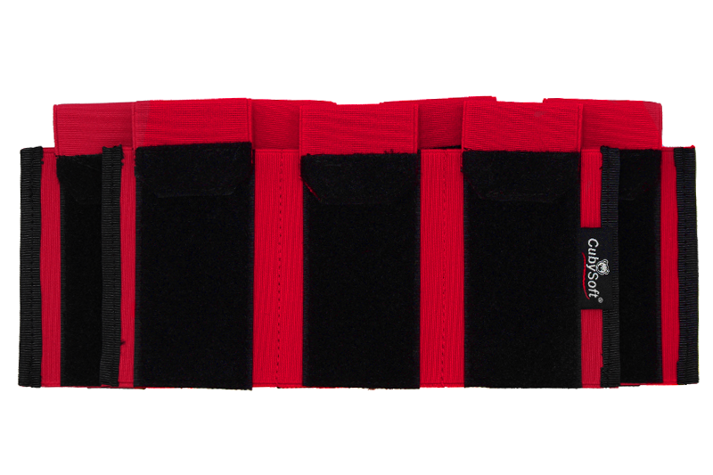 Thunder Mag Pouch AR 4+3 Red Cubysoft