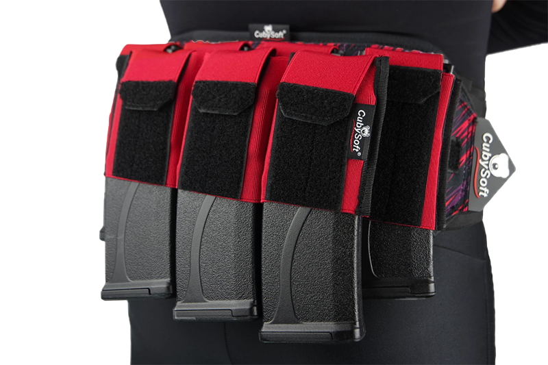Thunder Mag Pouch AR 4+3 Red