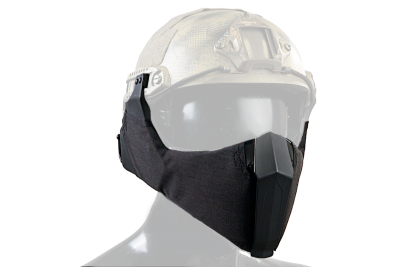 TMC MANDIBLE For OC Highcut Helmet - Black