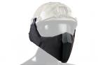 TMC MANDIBLE For OC Highcut Helmet - Black