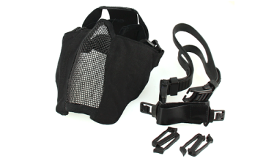 TMC PDW Soft Slide 2.0 Mesh Mask - Black