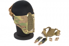 TMC PDW Soft Slide 2.0 Mesh Mask - Multicam