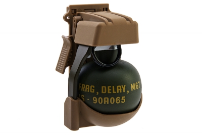 TMC QD M67 Gren Pouch with Dummy - CB