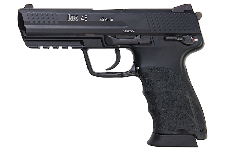 Umarex H&K HK45 GBB - Black (by KWA)