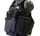 Veste tactique Noire Ciras SWISS ARMS