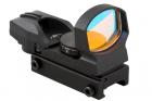 Visée point rouge 1x23x34 4 réticules Vector Optics