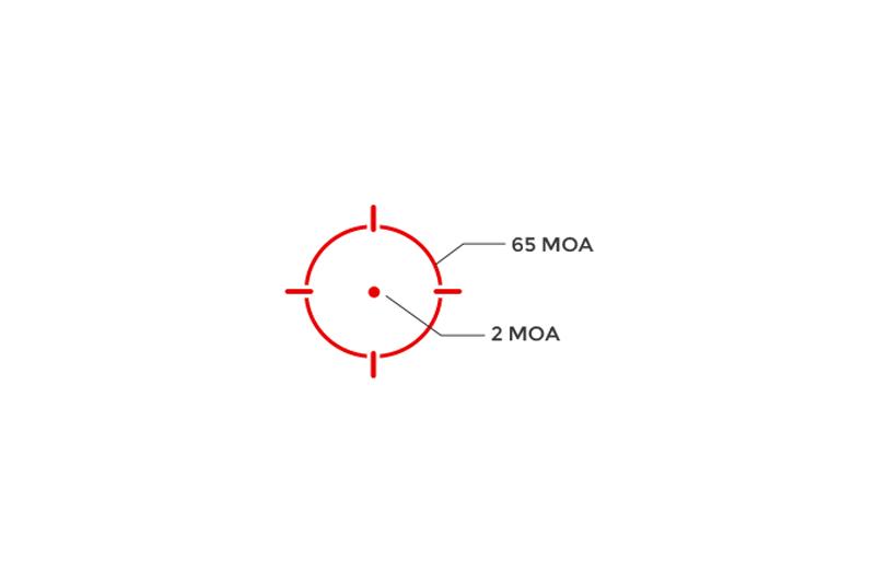 Visée point rouge HS512C Holosun