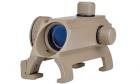 Visée point rouge pour MP5 DE AIM pour réplique airsoft