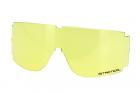 X800 Ecran de rechange en polycarbonate jaune anti-rayures et anti-buée - étui microfibre